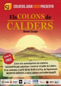 Poster Colons de Calders - Street Escape